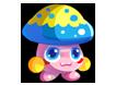 龍斗士斑點蘑菇怪物圖鑒