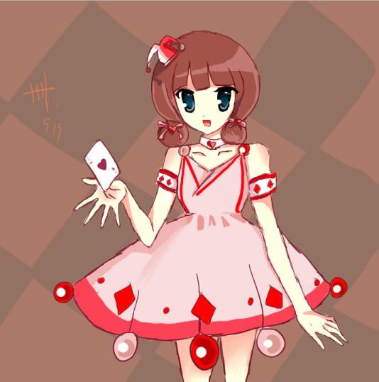红卌�9k�yK^X��[�^[�_小卌奥比岛板绘秀作品--小丑公主