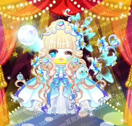 奥比岛服装图鉴万圣白幽公主装